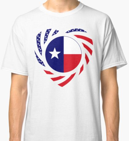 Texan American Murican Patriot Flag Series 2.0 Classic T-Shirt