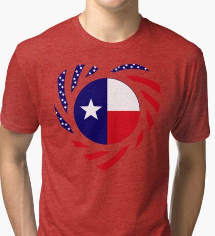 Texan American Murican Patriot Flag Series 2.0 Tri-blend T-Shirt