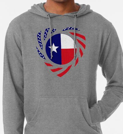 Texan American Murican Patriot Flag Series 2.0 Lightweight Hoodie