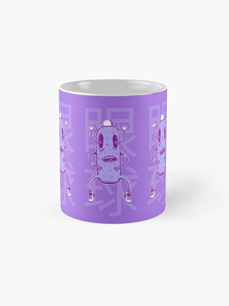 Alternate view of Copy of Purple People  Mug