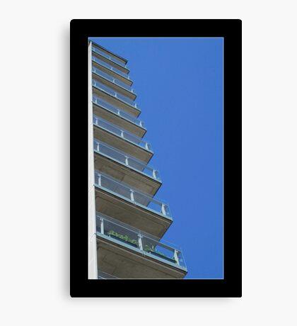 Manchester high rise living Canvas Print