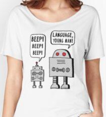Beeping Robot Women's Relaxed Fit T-Shirt