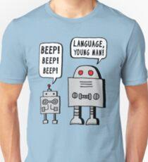 Beeping Robot Unisex T-Shirt
