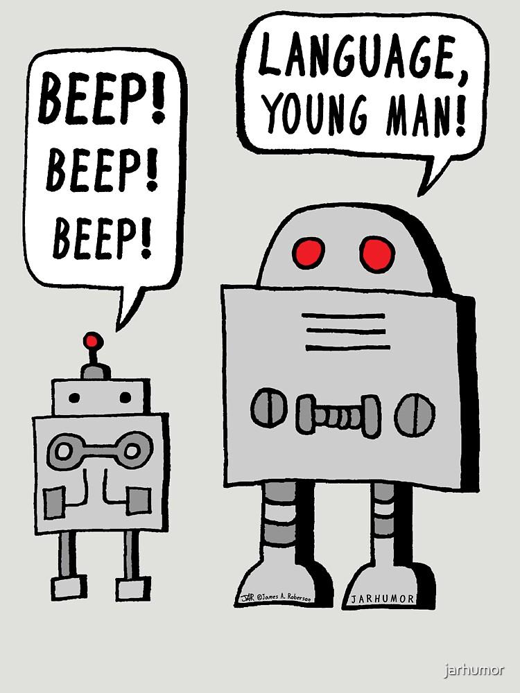 Beeping Robot by jarhumor