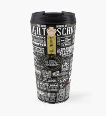 The Wise Words of Dwight Schrute (Dark Tee) Travel Mug