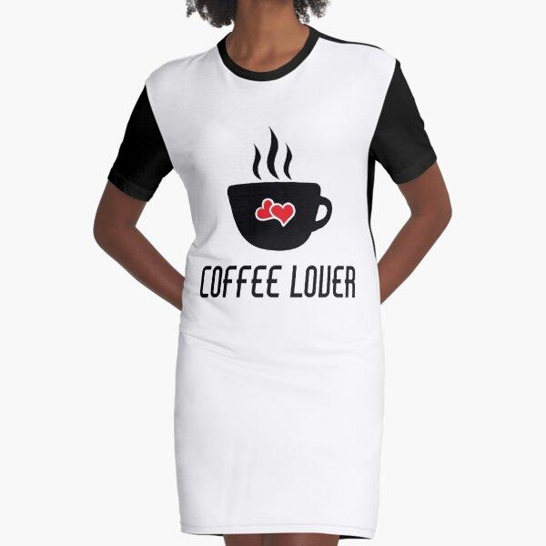 Taza de café amante Vestido camiseta
