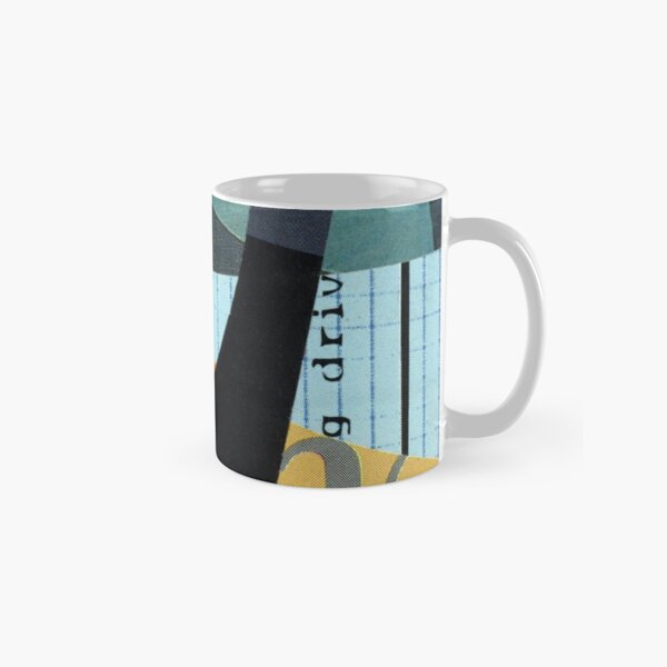 You May Know One abstract collage Classic Mug