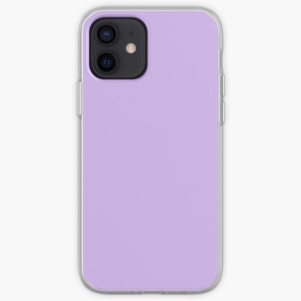 LIGHT PURPLE iPhone Soft Case