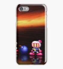 Bomberman - Panic Bomber pixel art iPhone Case/Skin