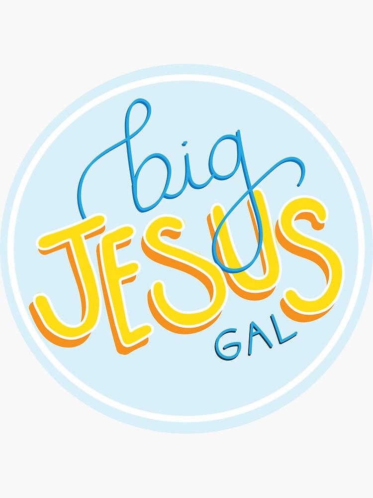Big Jesus Gal by elizabethkenna