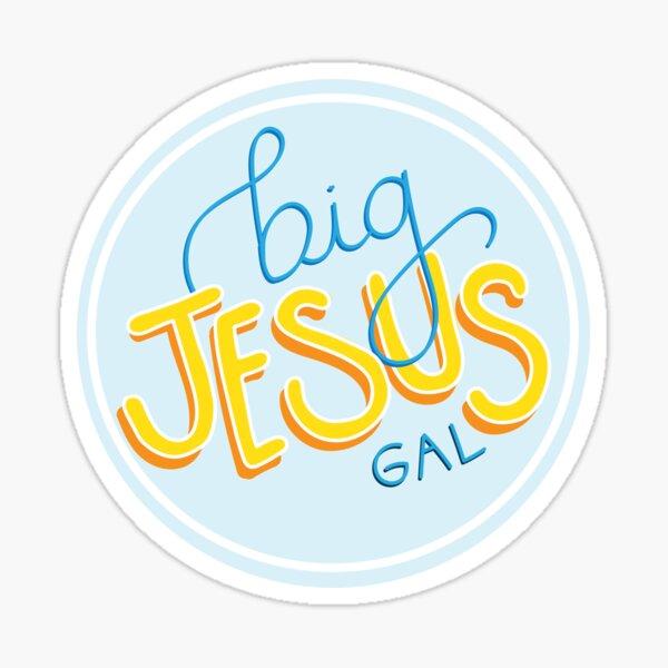Big Jesus Gal Pegatina