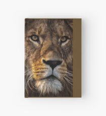 """Lion Shirt, """"I'm not mad, I'm hungry!"""" Hardcover Journal"""