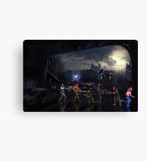Terminator Sega Mega CD pixel art Canvas Print