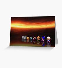 Super Bomberman pixel art Greeting Card