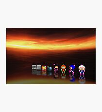 Super Bomberman pixel art Photographic Print