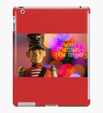 Merry Christmas from toyland, t-shirt iPad Case/Skin
