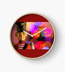 Merry Christmas from toyland, t-shirt Clock