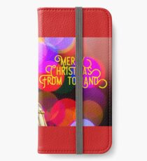 Merry Christmas from toyland, t-shirt iPhone Wallet/Case/Skin