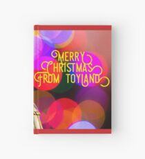 Merry Christmas from toyland, t-shirt Hardcover Journal