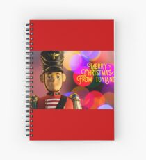 Merry Christmas from toyland, t-shirt Spiral Notebook