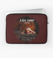 Live your dreams t-shirt Laptop Sleeve