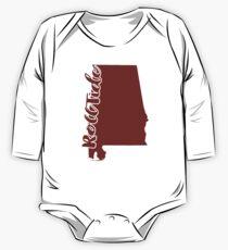 Body de manga larga para bebé Alabama - Roll Tide