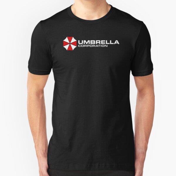 Resident Evil Umbrella Corporation Slim Fit T-Shirt