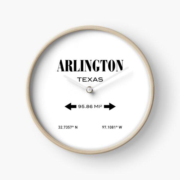 Arlington Texas Clock