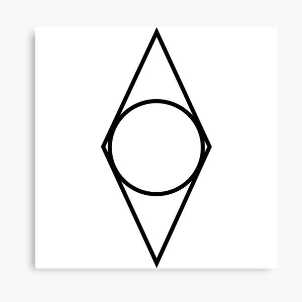 Elder Scrolls Skyrim - Guild Shadowmark Canvas Print