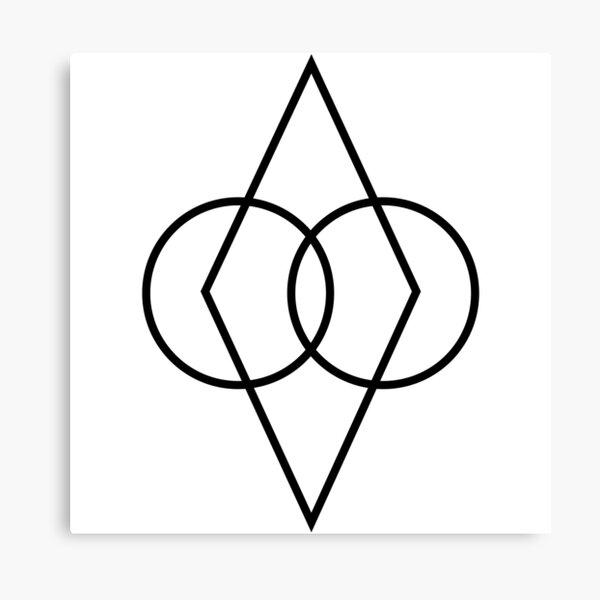 Elder Scrolls Skyrim - Protected Shadowmark Canvas Print