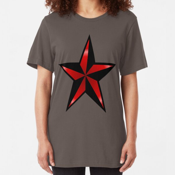 Red Star Slim Fit T-Shirt