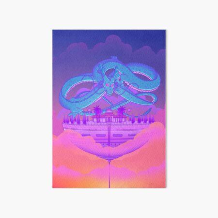 Kami's Lookout Art Board Print