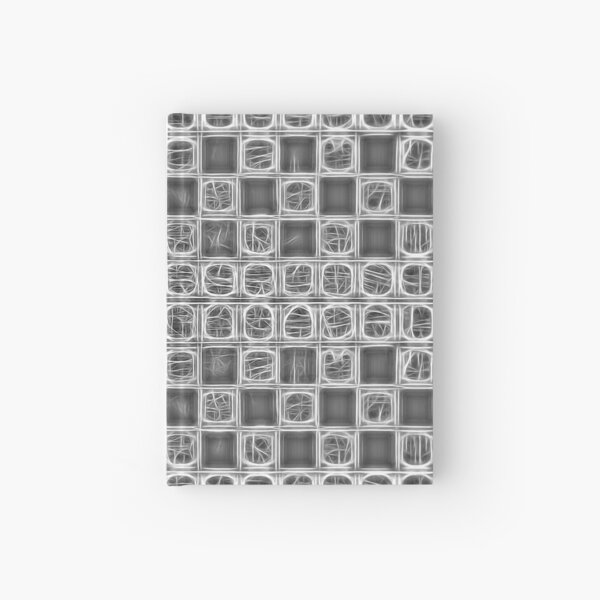 Grey Lace Hardcover Journal
