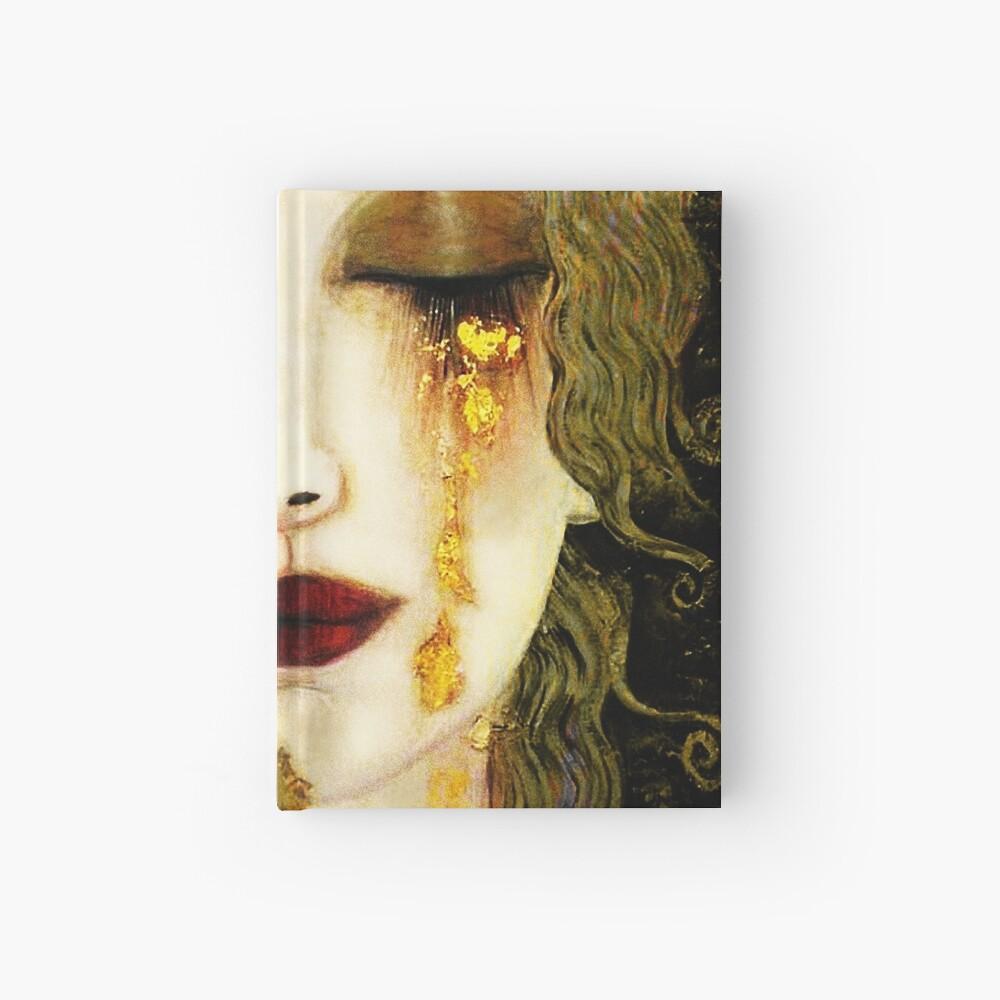 Gustav Klimt,  Golden Tears, Freyas Hardcover Journal