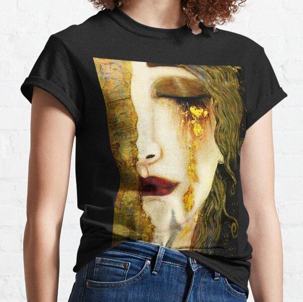 Golden Tears Freya's Tears of Gold Anne Marie Zimmerman (School of Klimt) Classic T-Shirt