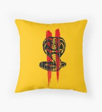 Cobra Kai II - red Throw Pillow