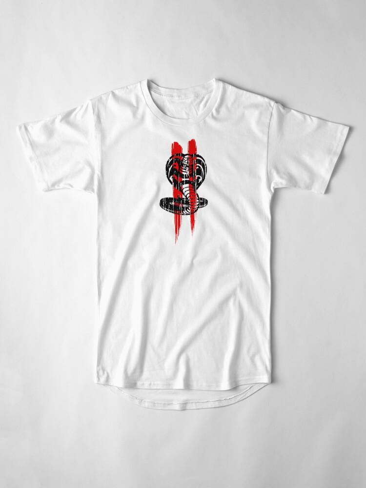 Alternative Ansicht von Cobra Kai II - rot Longshirt
