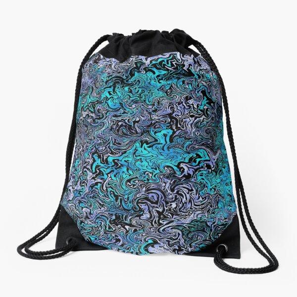 Abstract Whimsy Drawstring Bag