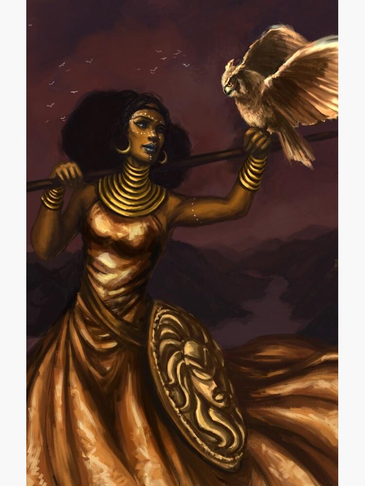 Athena, Göttin der Weisheit von christytortland