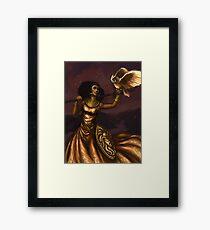 Athena, Göttin der Weisheit Gerahmtes Wandbild