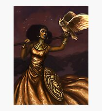 Athena, Goddess of Wisdom Photographic Print