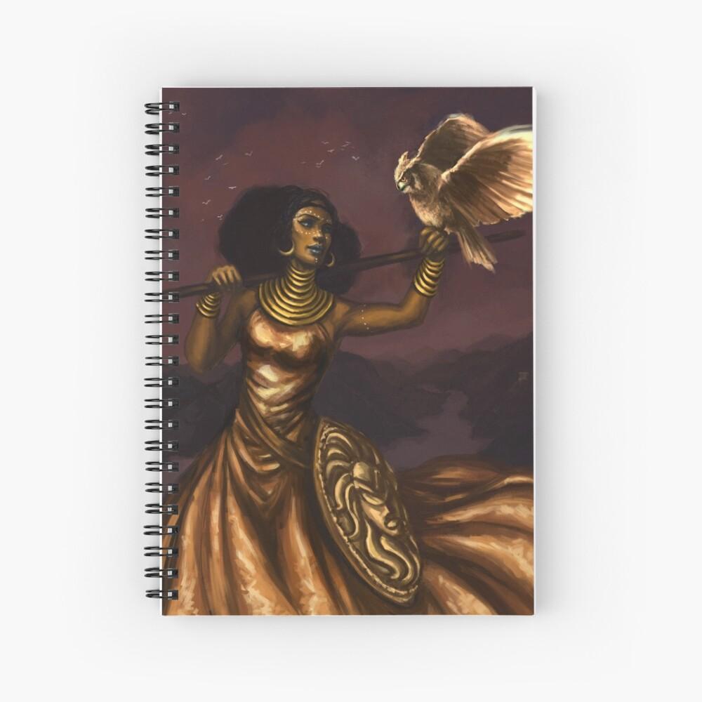 Athena, Göttin der Weisheit Spiralblock
