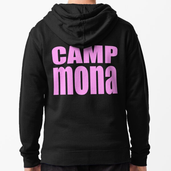 Camp Mona Zipped Hoodie