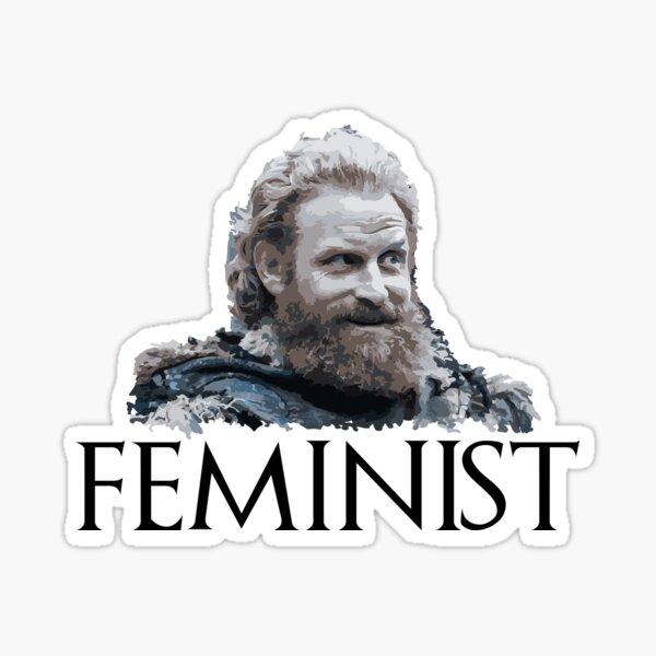 Tormund - Feminista Pegatina