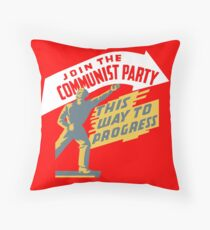 Treten Sie der Kommunistischen Partei bei Dekokissen