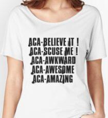 aca-all Women's Relaxed Fit T-Shirt