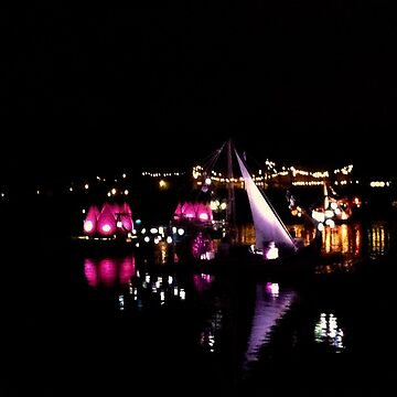 River Light Show by lyoung403b