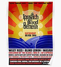 Ipswich Flood Benefit Poster