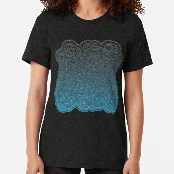 Menthol Ripples Tri-blend T-Shirt