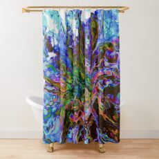 Diaspora 1 Shower Curtain